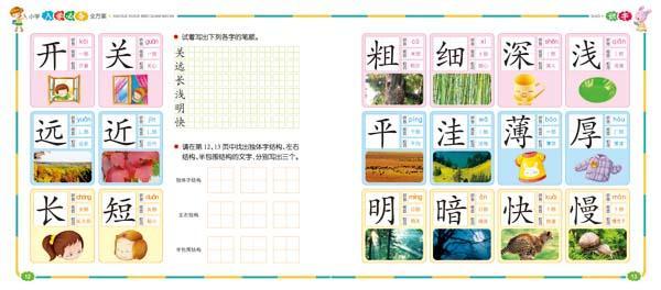 中国儿童基础阅读第一书识字(彩绘·注音·伴读)