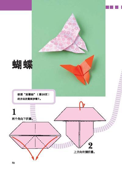 折纸步骤图解伞