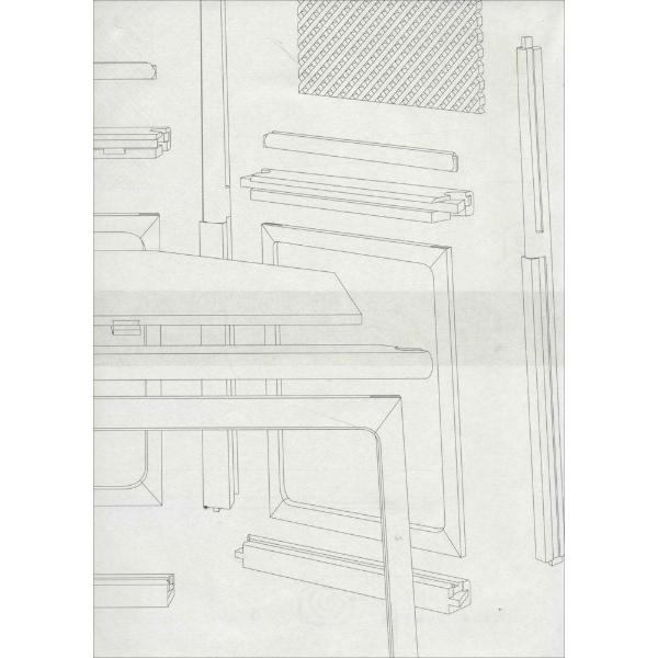 建筑平面图纸质素材