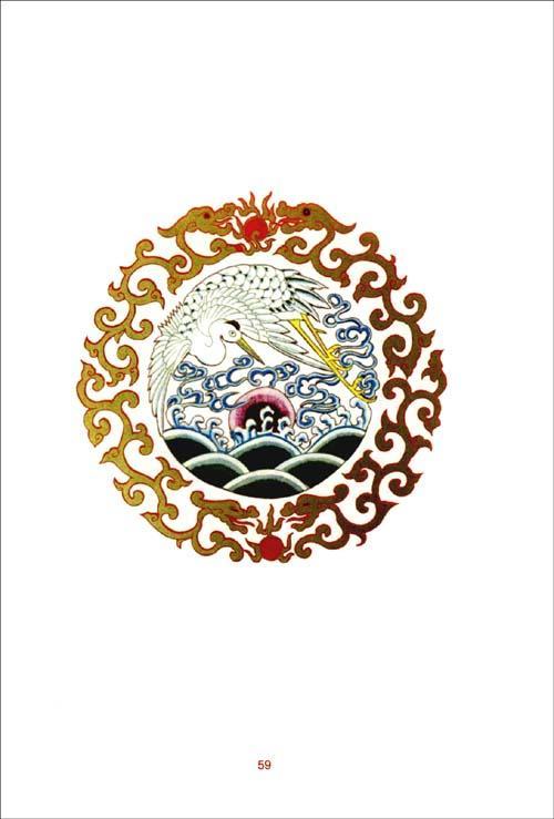 古装领圈及各种边饰花纹