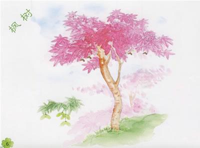 树的简单手绘图
