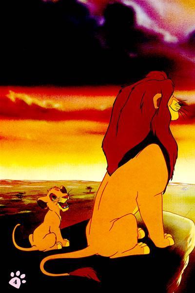 动画片狮子王图片和动物名称