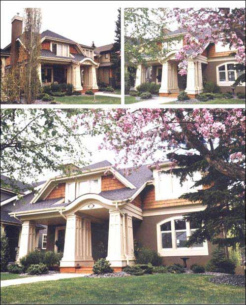 北美别墅外观设计