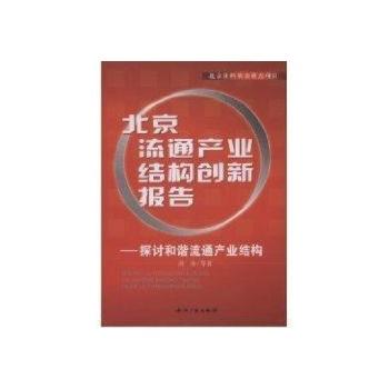 北京流通产业结构创新报告-洪涛