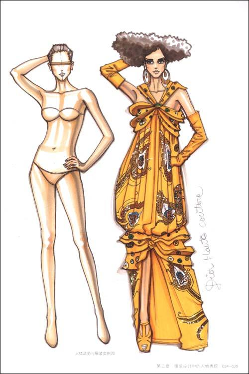 服装的结构各部位名称图解