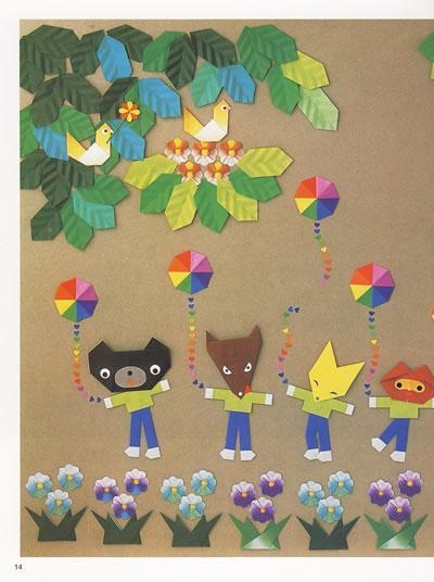 可爱的小动物折纸-日本拼布通讯社-手工diy-文轩网