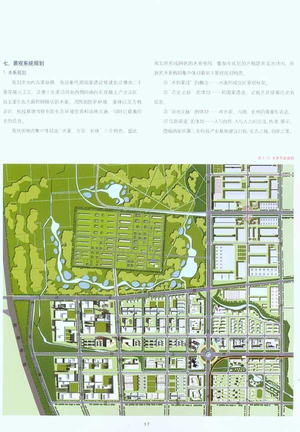 产业园区景观结构分析图