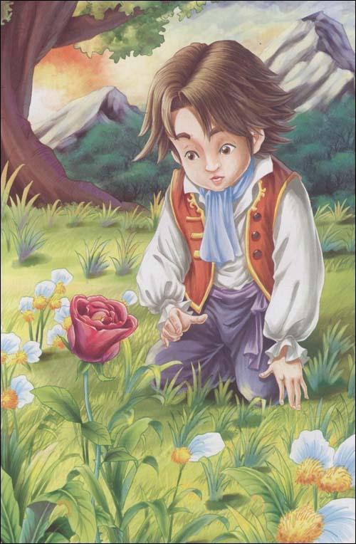 """"""" 我向小王子指出,猴面包树可不是灌木,而是"""