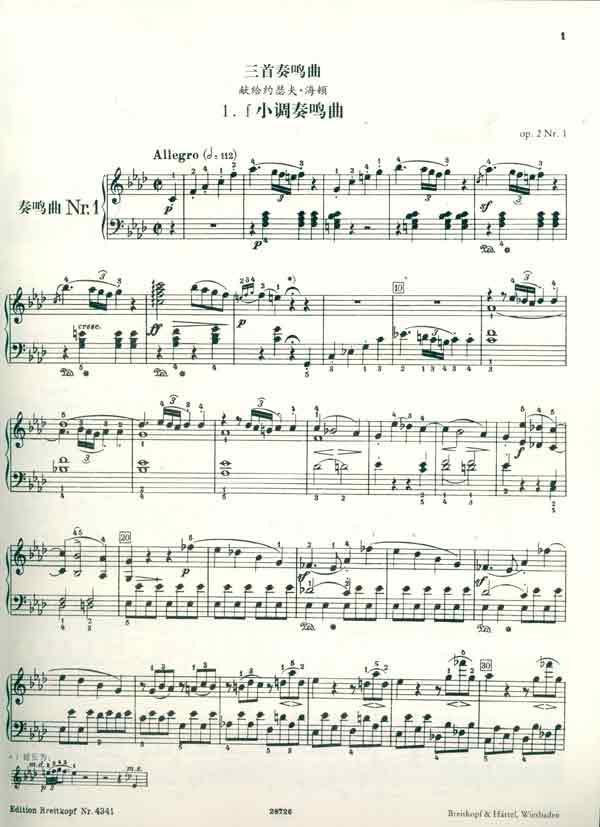小芳钢琴简谱歌谱